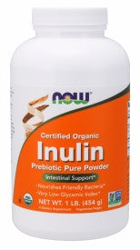 Inulin Prebiotic Pure Powder Organic 1 Lb