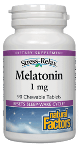 Natural Factors Melatonin 1 mg 90 Tablets