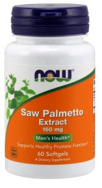 Saw Palmetto Extract 160 mg - 60 Softgels
