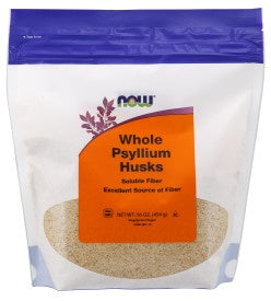 Psyllium Husks, Whole - 16 oz.