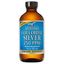 Natural Path Silver Wings Colloidal Silver 250 PPM 8 oz.