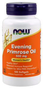 Evening Primrose Oil 500 mg -100 Softgels