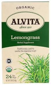 Alvita Lemongrass 24 Tea Bags