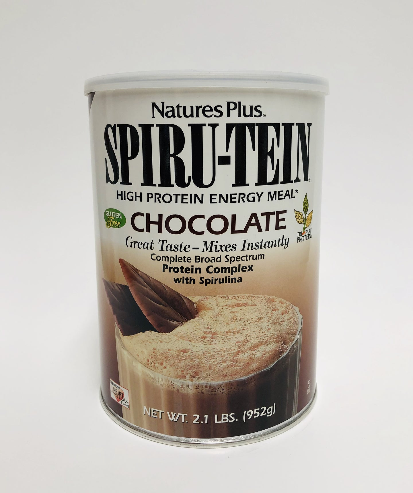 Nature's Plus Spirutein Chocolate 2.1 lbs