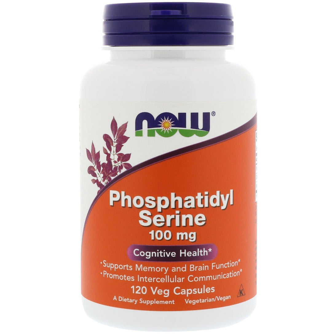 Now Phosphatidyl Serine 100 mg 120 Capsules