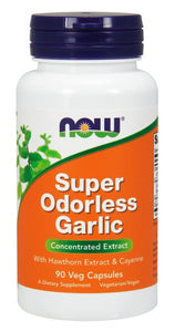 Super Odorless Garlic - 90 Veg Capsules