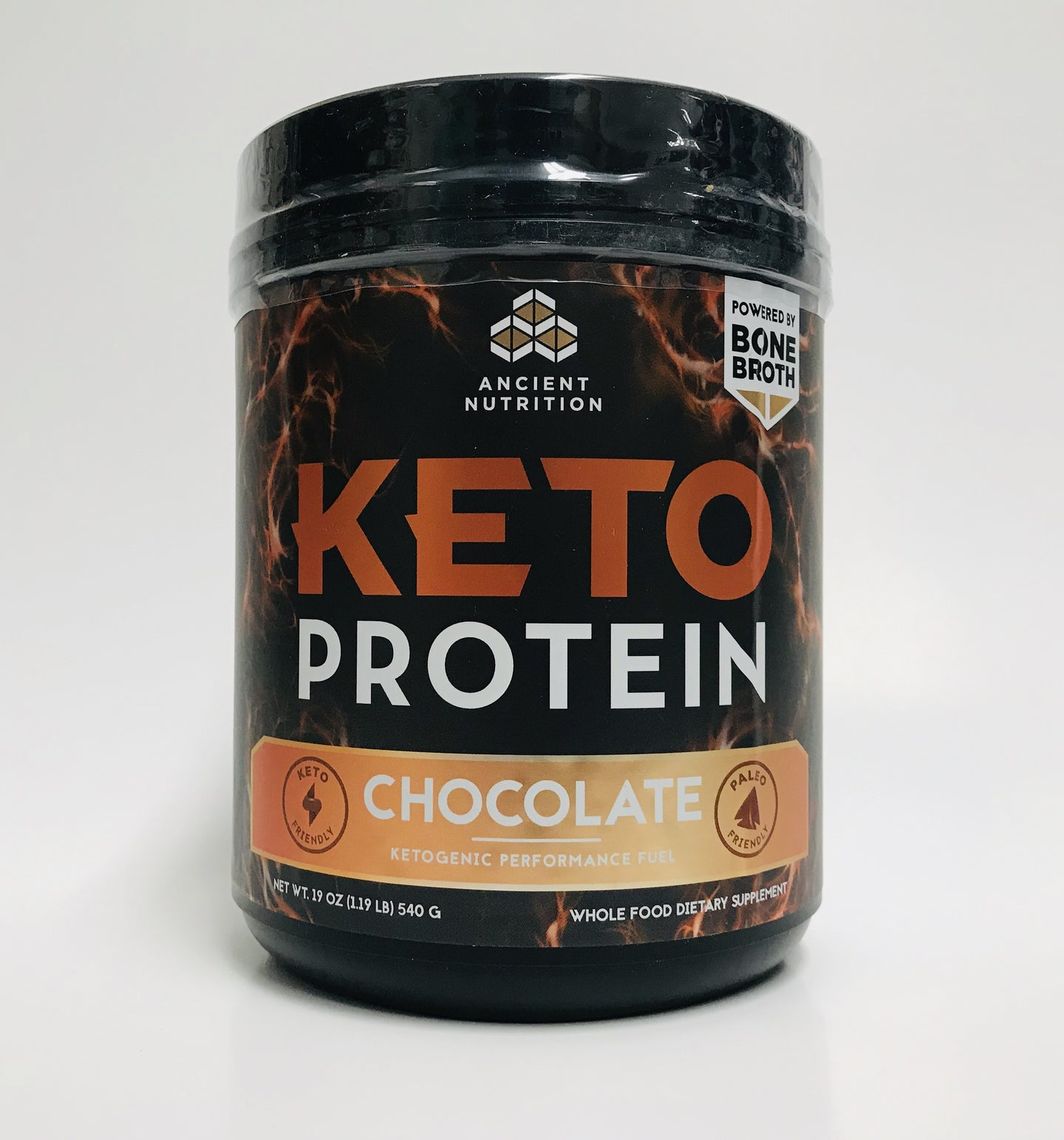 Ancient Nutrition Keto Feast Bone Broth Chocolate
