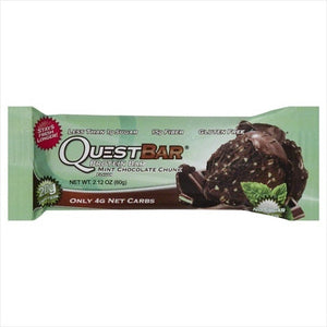 Quest Protein Bar Mint Chocolate Chunk 2 Oz.