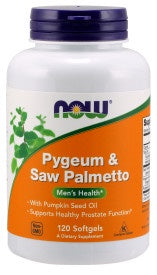 Pygeum & Saw Palmetto - 120 Softgels