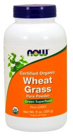 Wheat Grass Powder - 9 oz. - Organic, Non-GE
