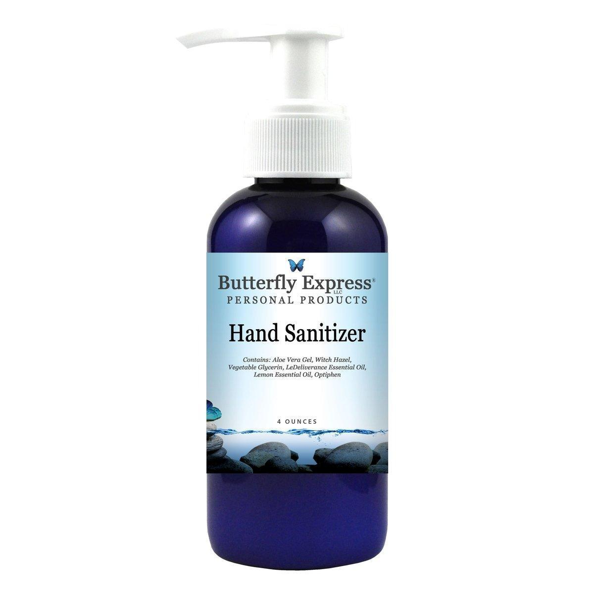 Butterfly Express Hand Sanitizer 4 Oz.