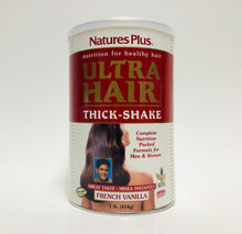 Nature's Plus Ultra Hair Thick - Shake French Vanilla 1 Lb.