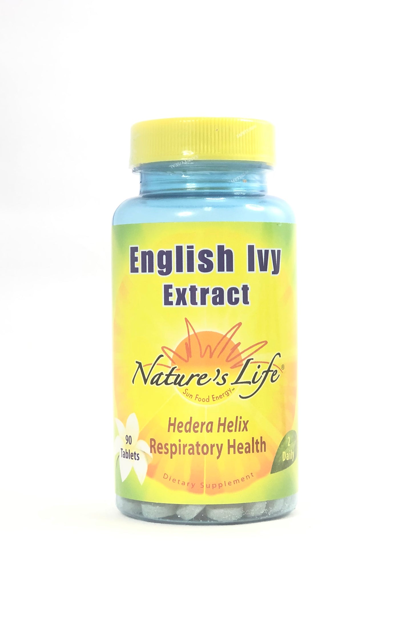 Nature's Life English Ivy Extract 90 Tablets