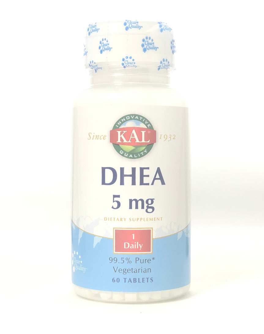 Kal DHEA 5 Mg 60 Tablets