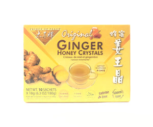 Prince of Peace Ginger Honey Crystals 10 Packets