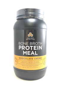 Ancient Nutrition Bone Broth Protein Meal Chocolate Creme  28.6oz