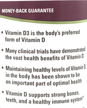 Terry Naturally Vitamin D3 5000 IU