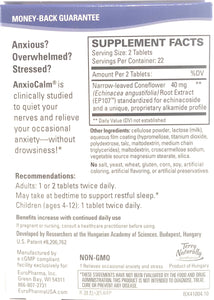Terry Naturally Anxiocalm Anxiety and Stress Relief Sleep Aid 45 Tablets