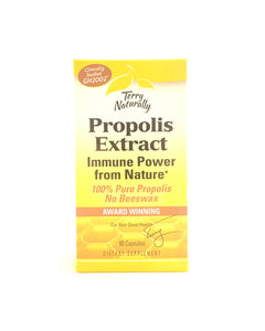 Terry Naturally Propolis Extract Immune Support 60 Capsules