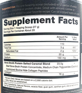 Ancient Nutrition Bone Broth Protein Salted Caramel