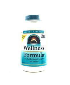 Source Naturals Wellness Formula 180 Tablets