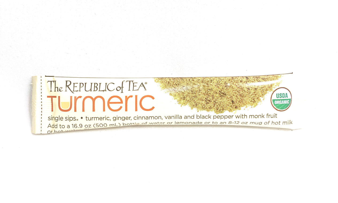 Republic of Tea Turmeric Single Sips Single Serving