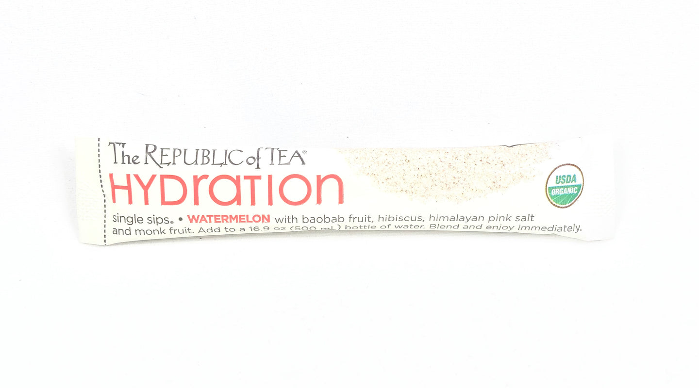 Republic of Tea Hydration Single Sip Watermelon