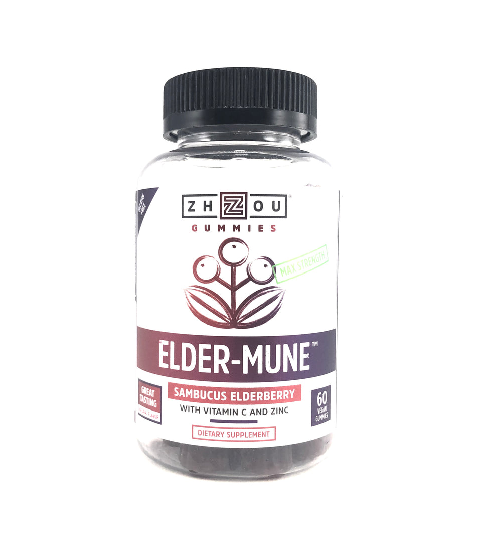 Zhou Elder-Mune Max Strength  60 Gummies