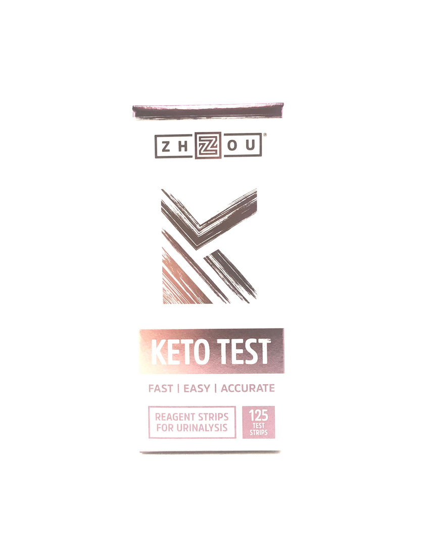 Zhou Keto Test Strips 125 Test Strips
