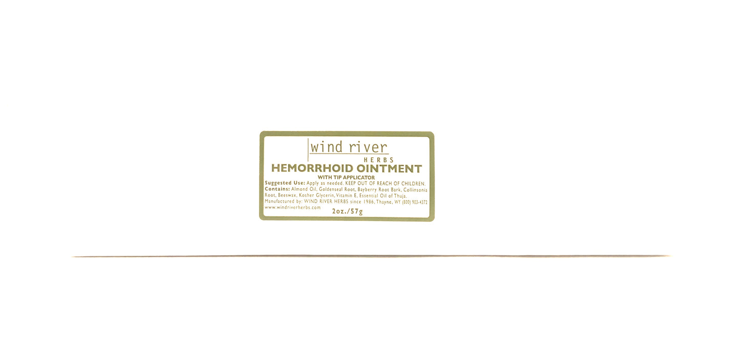 Wind River Hemorrhoid Ointment 2 Oz