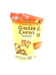 Prince of Peace Mandarin Orange Ginger Chews
