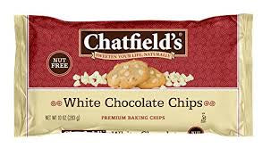 Chatfields's White Chocolate Chips 10 Oz