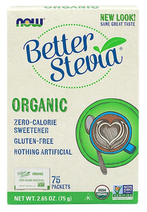 Better Stevia Organic - 75 Packets