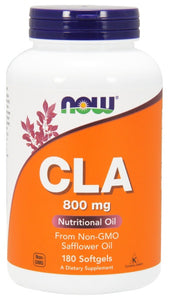 CLA (Conjugated Linoleic Acid) 800 mg - 180 Softgels