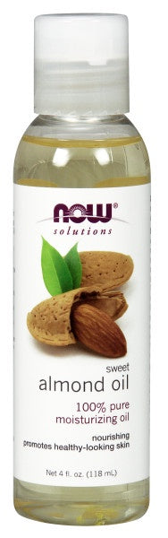 Now Sweet Almond Oil 4 fl. oz.