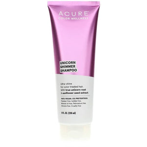 Acure Color Wellness Unicorn Shimmer Shampoo 8 Oz