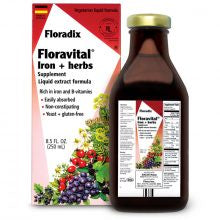 Floravital Iron+Herbs  Yeast and Gluten Free 8.5 oz