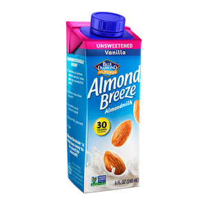 Almond Breeze Almond Milk Unsweetened Vanilla Single Serve 8 fl. Oz.