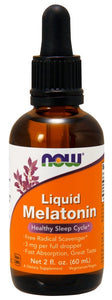 Now Liquid Melatonin 3 mg - 2 fl. oz.