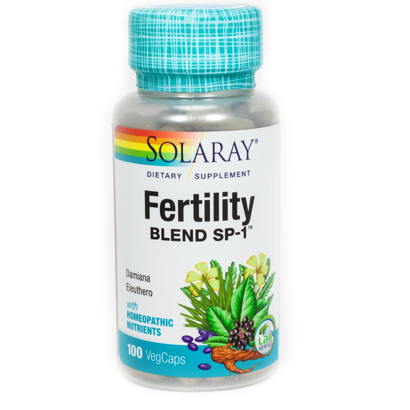 Solaray Fertility Blend SP-1 100 Capsules