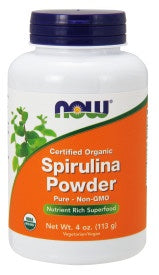 Spirulina Powder, Organic - 4 oz.