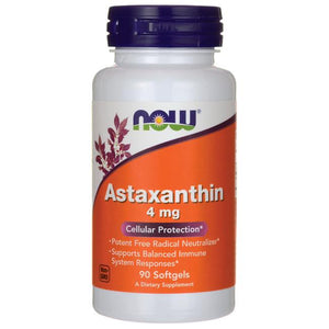 Now Astaxanthin 4 mg 90 Softgels