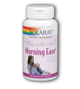 Solaray Baby Me Now Morning Ease Formula 30 Capsules