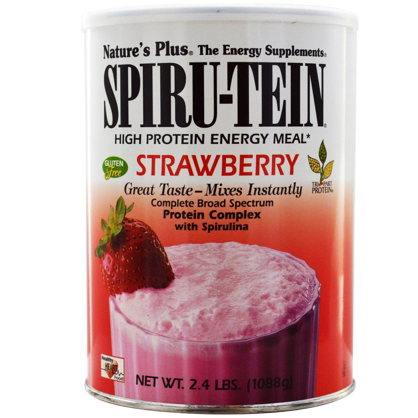 Nature's Plus Spiru-tein Strawberry 2 LBS