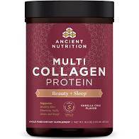 Multi Collagen Protein Beauty + Sleep Vanilla Chai 16.5 Oz