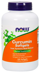 Curcumin Softgels - 120 Softgels