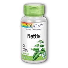 Solaray Nettle Leaves 100 Capsules