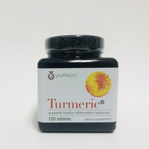 Youtheory Turmeric  Curcumin Supplement 120 Tablets