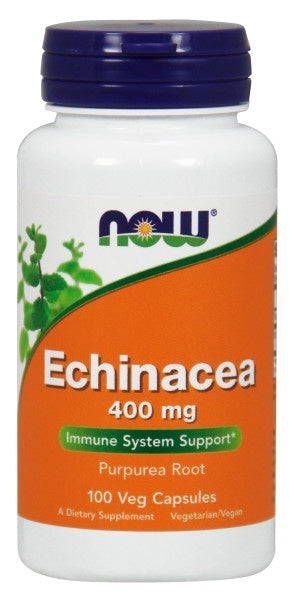 Now Echinacea 400 mg - 100 Capsules