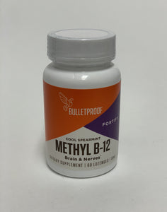 Bulletproof Methyl B-12 Cool Spearmint 60 Lozenges